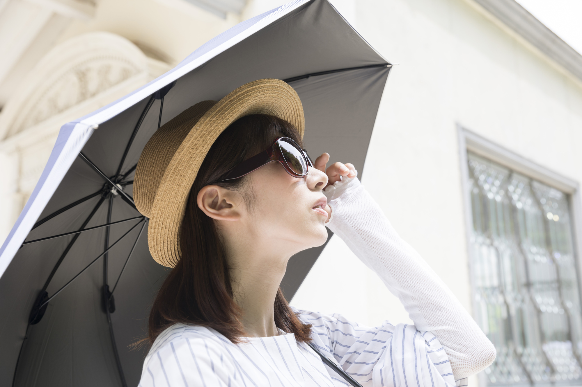 日傘、サングラス