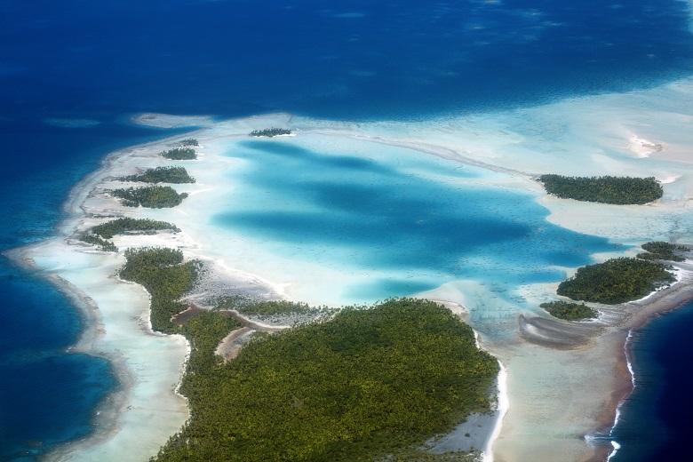 タヒチ・ランギロア島