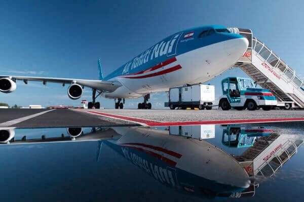 エイアタヒチヌイの直行便でアクセス可能