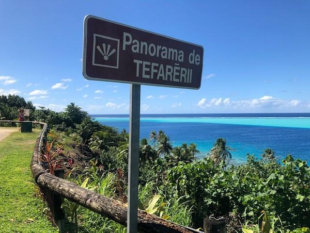 フアヒネ島は景勝地がいっぱい