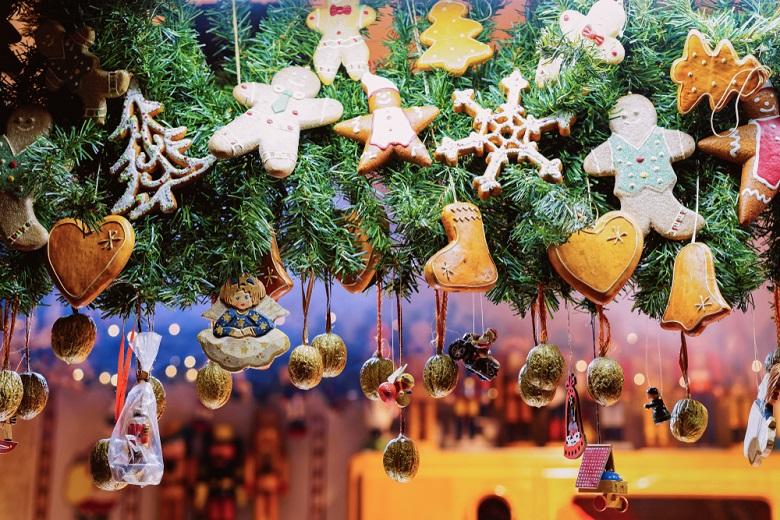 クリスマスマーケットにも立ち寄り