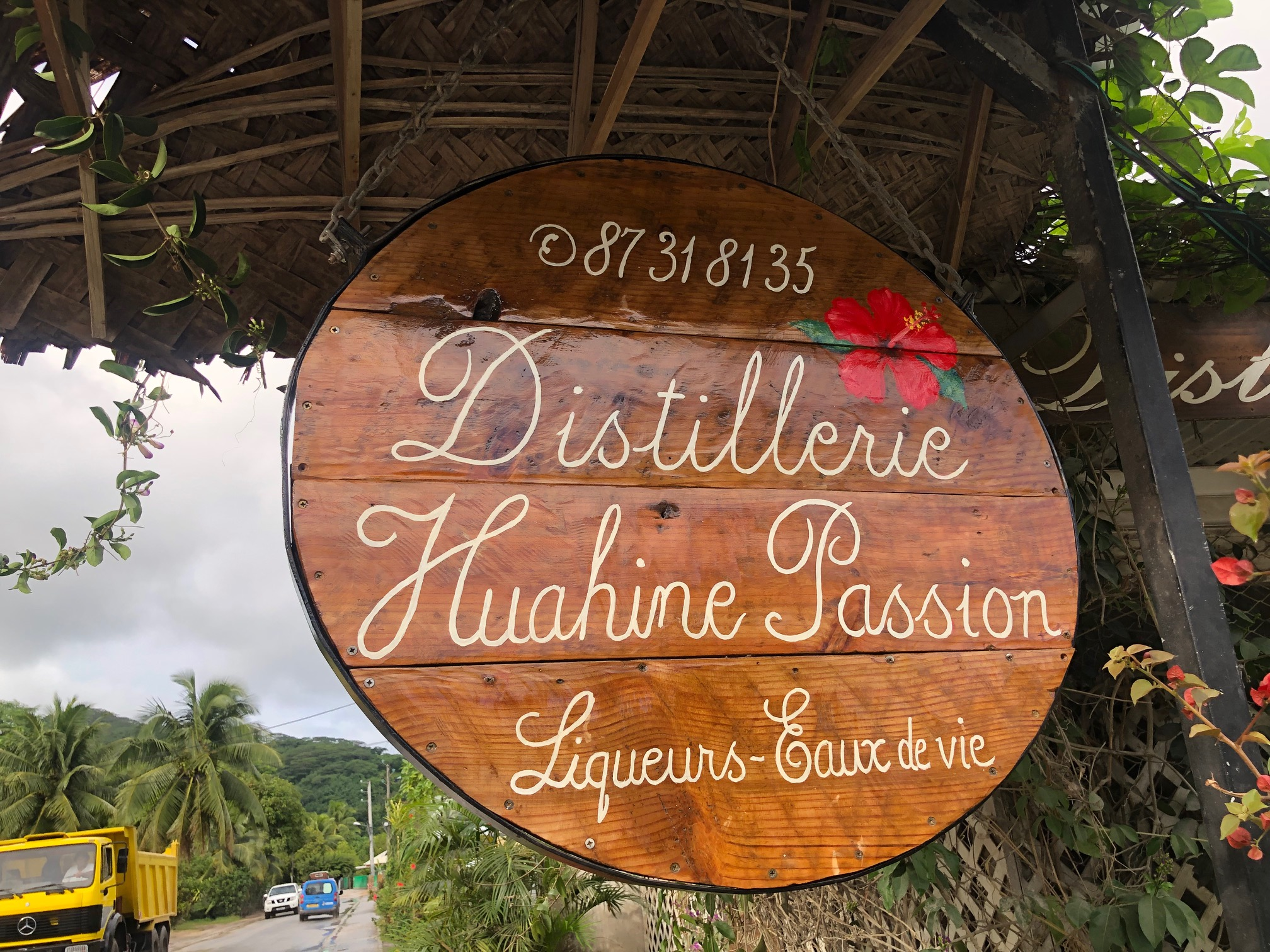 タヒチ、フアヒネ島、リキュール、ビネガー、工房