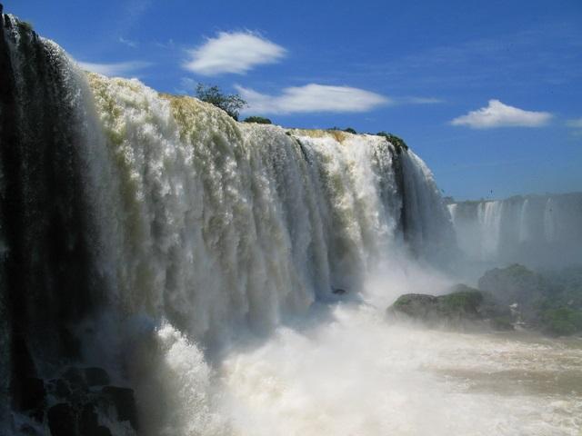 ブラジル・イグアスの滝