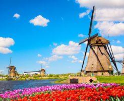 世界遺産・キンデルダイクの風車群ツアー