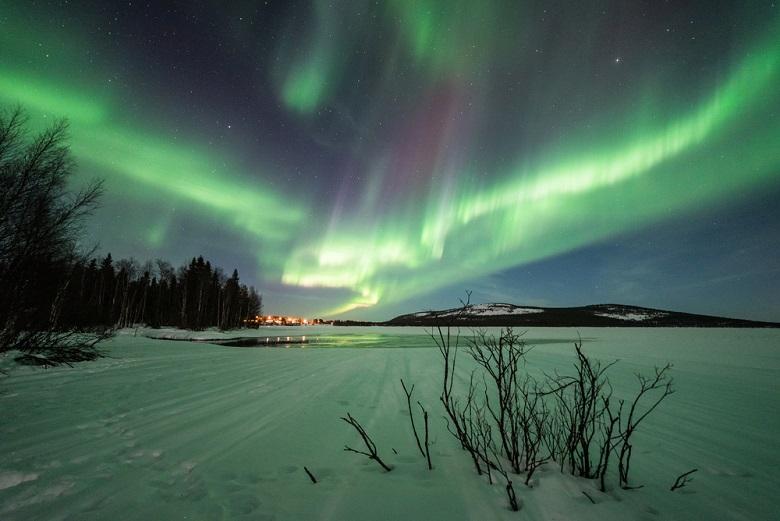 フィンランドのオーロラ鑑賞
