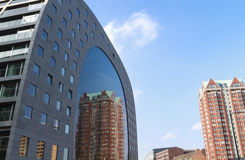 ユニークな建造物がいっぱいのロッテルダム