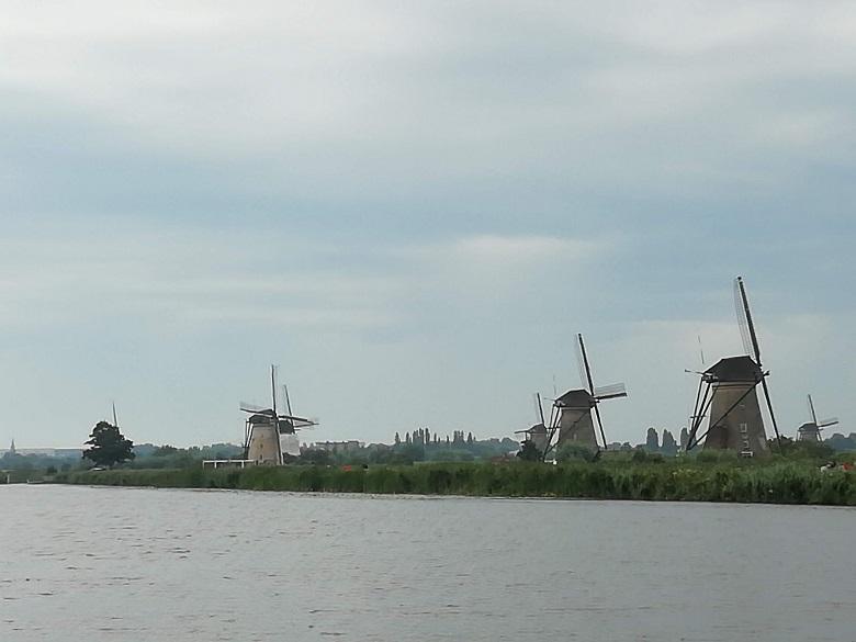 ロッテルダムからキンデルダイクへ