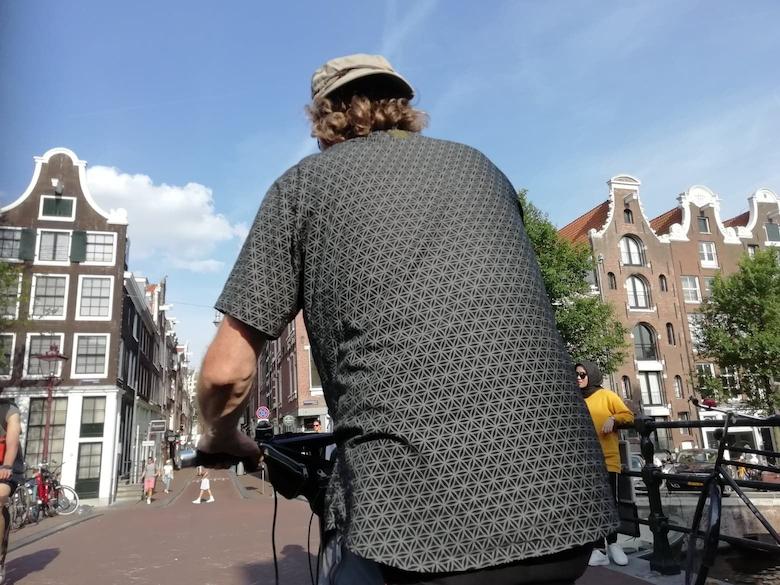 アムステルダムの自転車タクシー