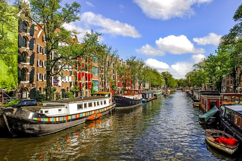 アムステルダムはロマンティックな街