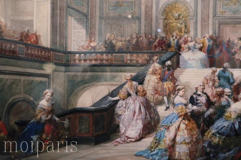 ヴェルサイユ宮殿での暮らし