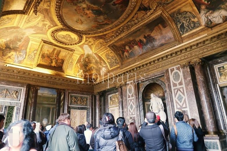 ヴェルサイユ宮殿はスリに注意