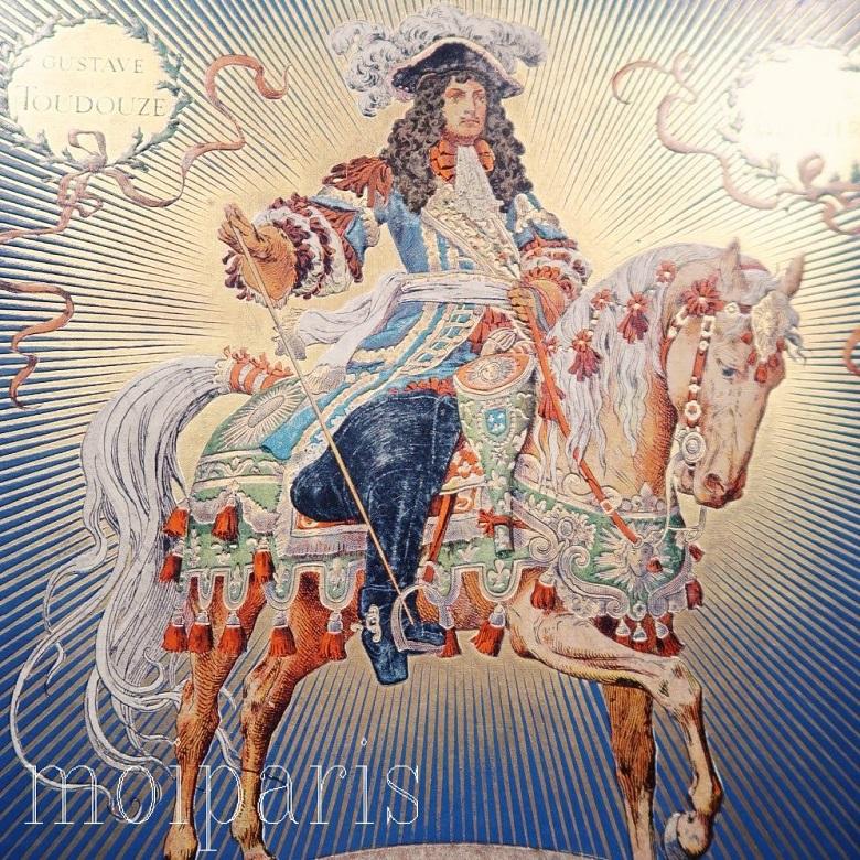 ルイ15世が描かれた絵画