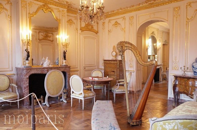 18世紀の邸宅の雰囲気