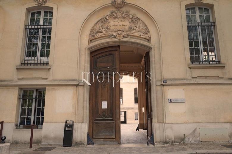 ルイ15世の公妾デュ・バリー夫人の邸宅