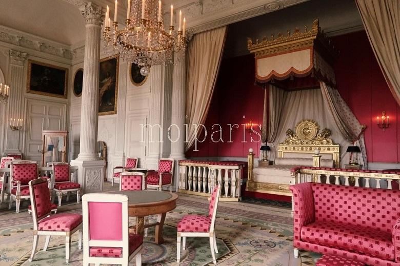 皇妃マリー=ルイーズの寝室