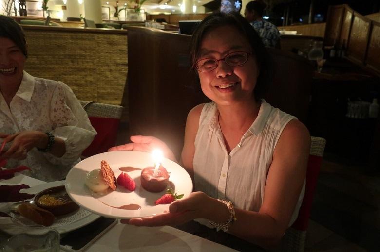お誕生日をお祝いしていただきました