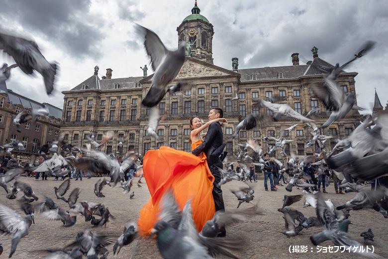 絵になるシチュエーションがいっぱいのオランダ