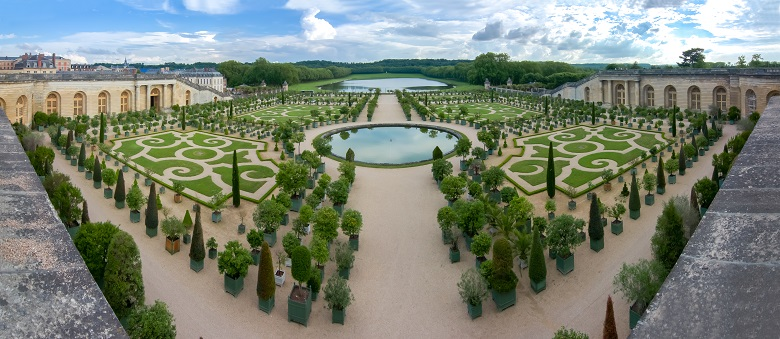 究極の人工美・ヴェルサイユの庭園