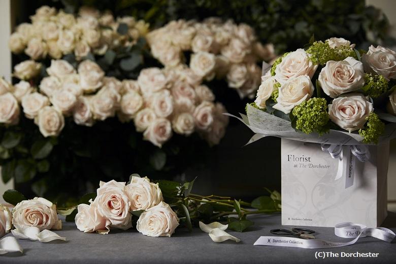 ザ・ドーチェスターの名がついた新種のバラ