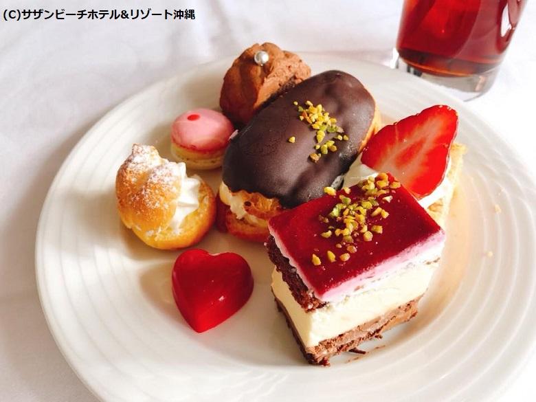 デザート豊富なランチ