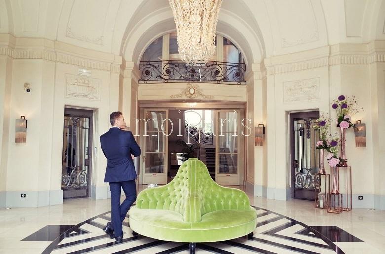 歴史あるホテル・トリアノン・パレス