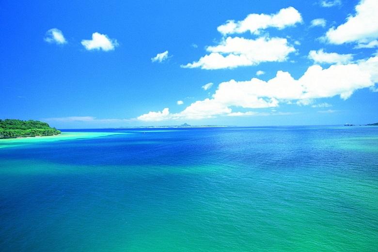 沖縄本島の海