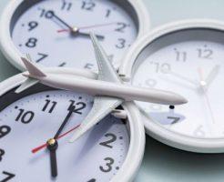 時計と飛行機