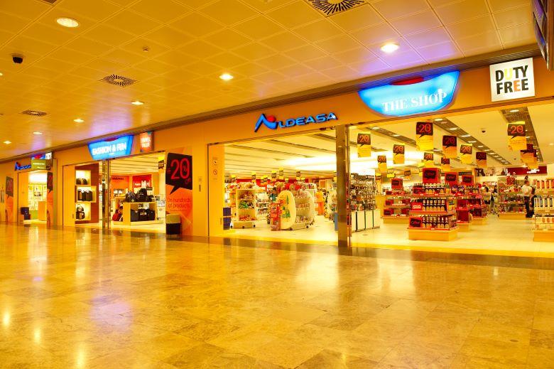 マドリード空港の免税店