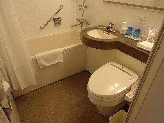 ナハナホテルのバスルーム