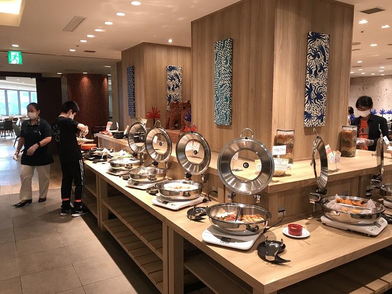 ナハナ・ホテル&スパの朝食