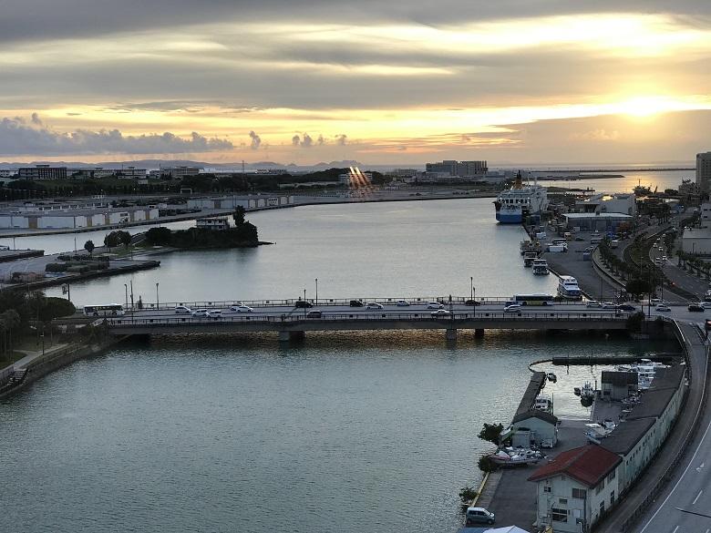 東急ステイ沖縄那覇からの眺め