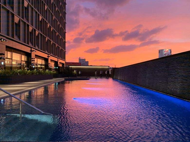 ホテルコレクティブのプール