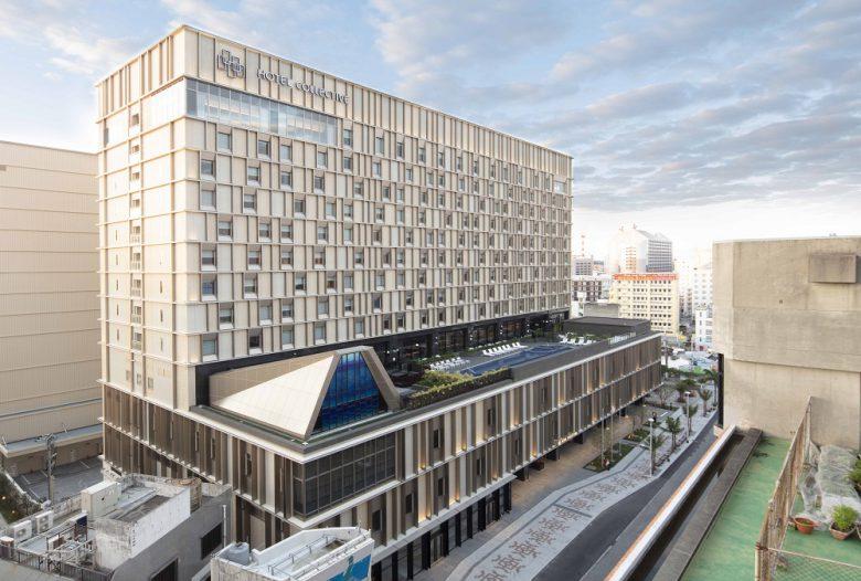 沖縄・国際通り中心部に建つホテルコレクティブ