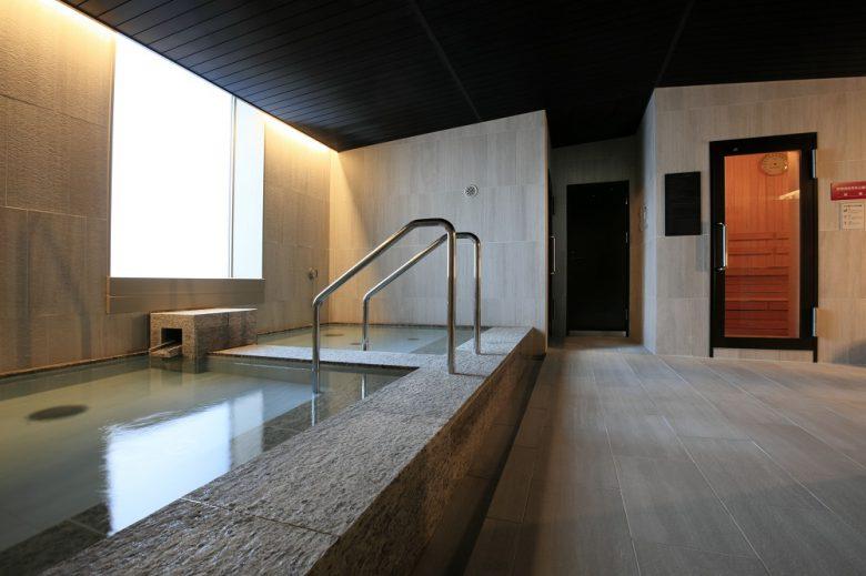 サウナと大浴場
