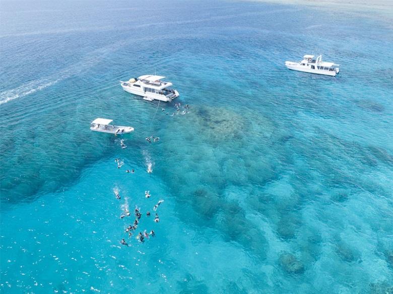 美しい海が広がる座間味諸島
