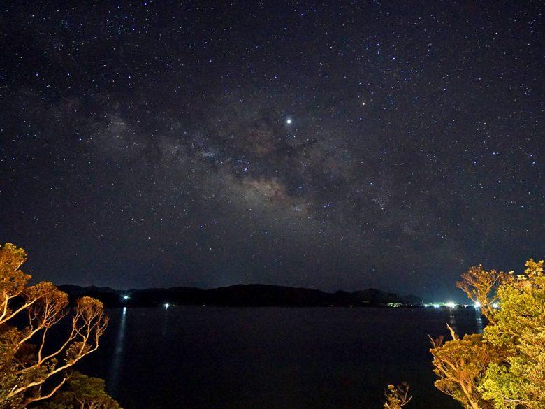 奄美から見る美しい星空