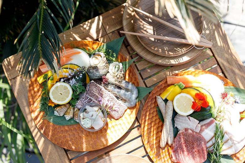 食材は肉・野菜・魚・フルーツとバリエーション豊富
