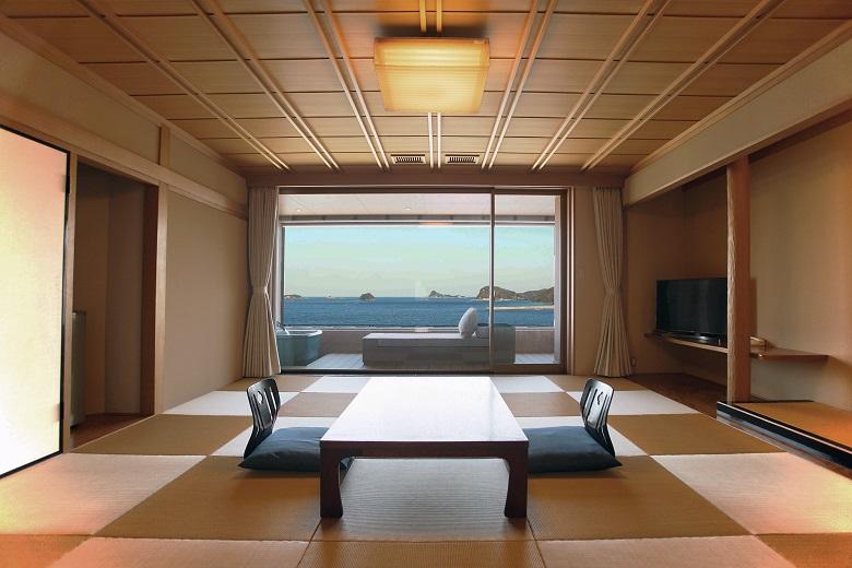 「コーナー和室」からの眺め