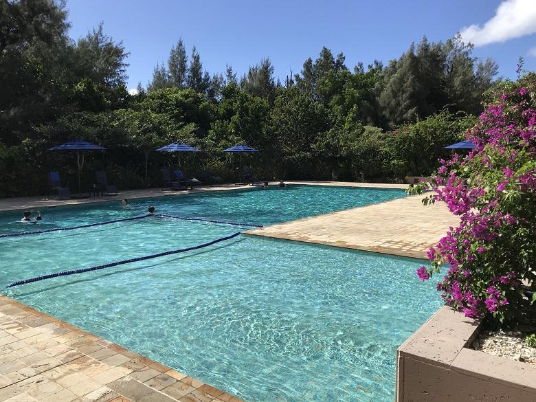 星野リゾート西表島ホテルの屋外プール