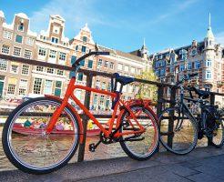 オランダバイクツアーをオンラインで開催